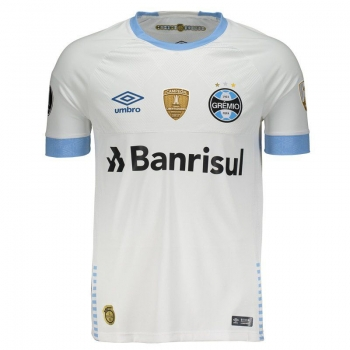 Umbro Grêmio Away 2018Libertadores Authentic Jersey 10