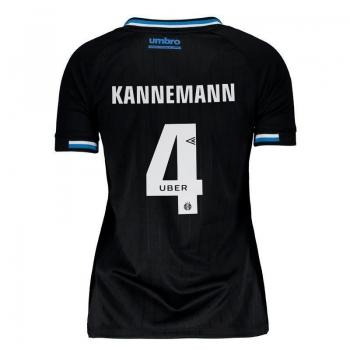 Umbro Grêmio Third 2018 4 Kannemann Women Jersey