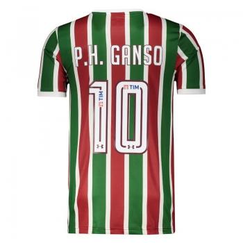Under Armour Fluminense Home 2017  10 P.H. Ganso Jersey