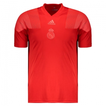 Adidas Real Madrid Icon Red T-Shirt
