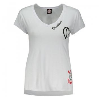 Corinthians Agnes Women White T-Shirt