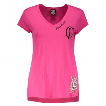 Corinthians Agnes Women Pink T-Shirt