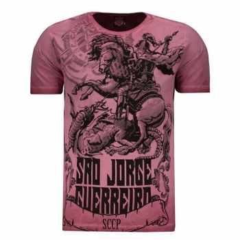 Corinthians São Jorge Warrior Bordeaux T-Shirt