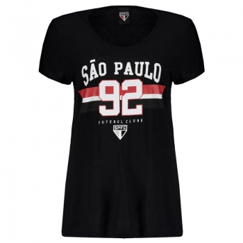 São Paulo 92 Black Women T-Shirt