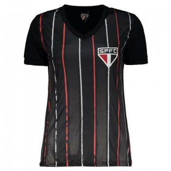 São Paulo Deep Motion Women Black T-Shirt