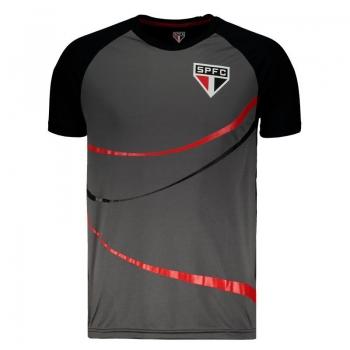 São Paulo Diamond Black T-Shirt