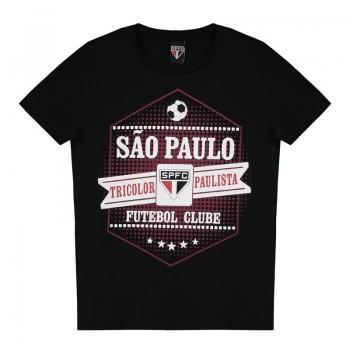 São Paulo Joy Kids Black T-Shirt