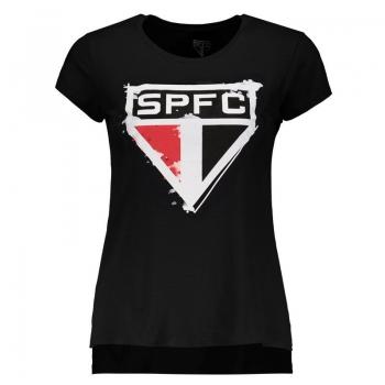 São Paulo My Heart Has 5 Tips Black T-Shirt
