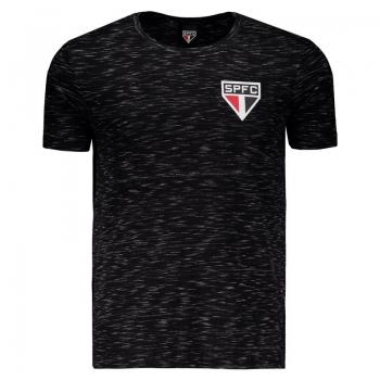 São Paulo Tricolor Black T-Shirt