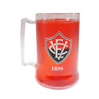 Vitória Badge Red Freezer Mug