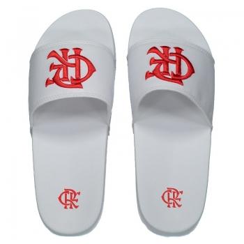 Flamengo CRF White Flip Flops