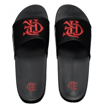 Flamengo CRF Black Flip Flops