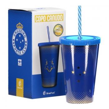 Cruzeiro Gold Plastic Cup