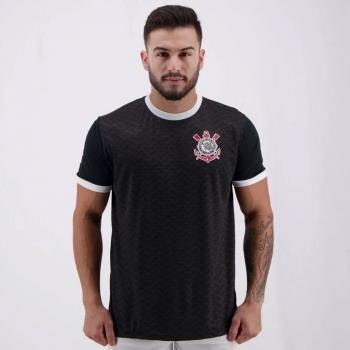 Corinthians Estado Black T-Shirt