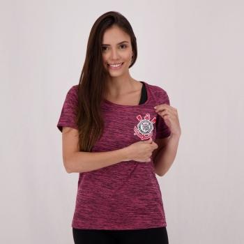 Corinthians Fio Tinto Clever Women Pink T-Shirt