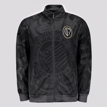 Corinthians Neostretch Black and Lead Jacket
