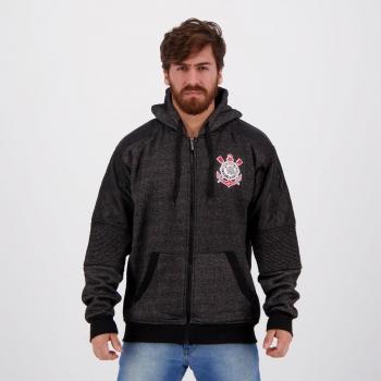 Corinthians Nylon Black Jacket