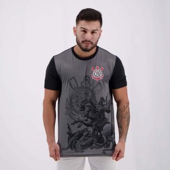 Corinthians St Jorge Black T-Shirt