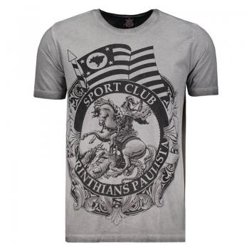 Corinthians St Jorge Mix Gray T-Shirt