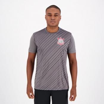 Corinthians Stroke SCCP Gray T-Shirt