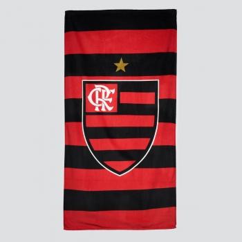 Dohler Flamengo Badge Black Towel