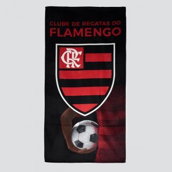 Dohler Flamengo Badge Red Towel