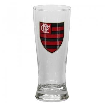 Flamengo Badge Beer Glass