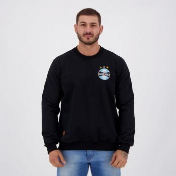 Grêmio Imortal Tricolor Black Sweatshirt