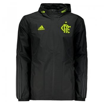 Adidas Flamengo 2019 Black Rain Jacket