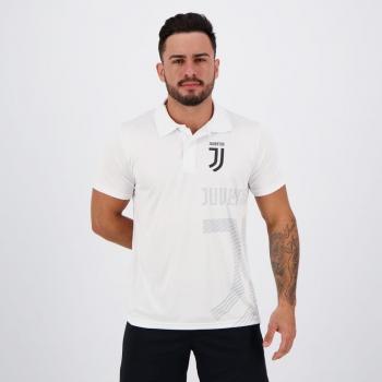 Juventus Shadow White Polo Shirt