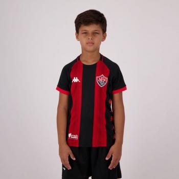 Kappa Vitória Home 2019 Kids Jersey