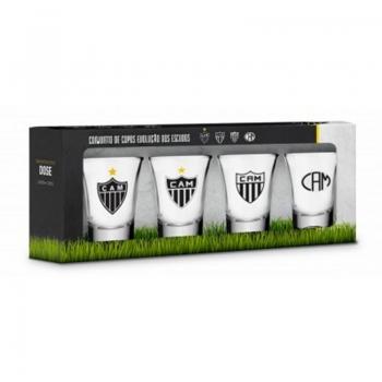 Atlético Mineiro 4 Cups Kit