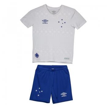 Umbro Cruzeiro Away 2019 Kids Soccer Kit
