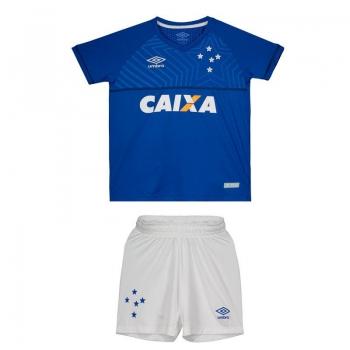 Umbro Cruzeiro Home 2018 Kids Kit