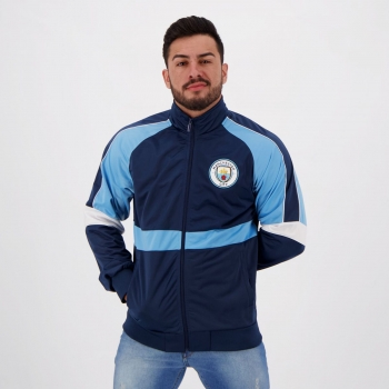 Manchester City Trilobal Navy Jacket