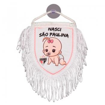 São Paulo Born São Paulina Mini Pennant