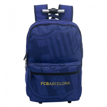 Barcelona Badge Backpack with Wheels