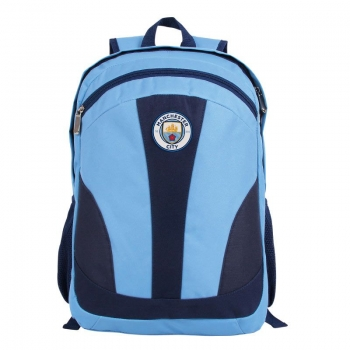 Manchester City Blue Backpack