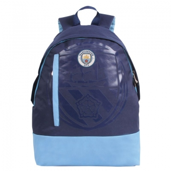 Manchester City Navy Blue Backpack