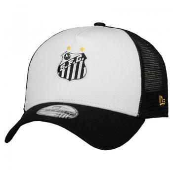 New Era Santos 940 Black and White Cap