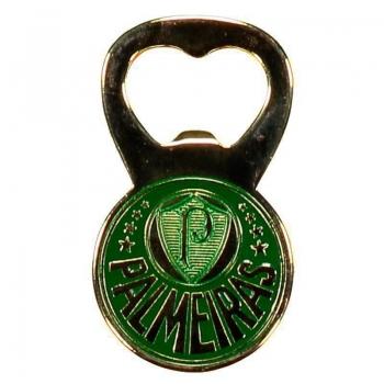 Palmeiras Badge Golden Bottle Opener