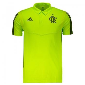 Adidas Flamengo Yellow Polo Shirt