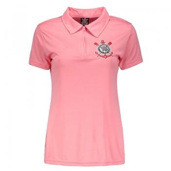 Corinthians Eternal Passion Women Pink Polo Shirt