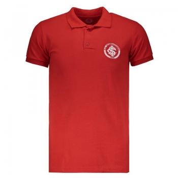 Internacional Badge Red Polo Shirt