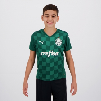Puma Palmeiras 2021 Home Teens Jersey