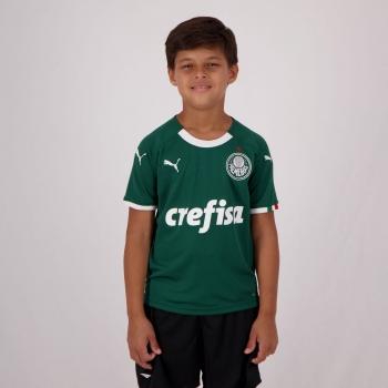 Puma Palmeiras Home 2019 Kids Jersey