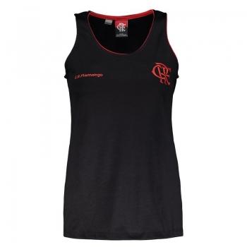 Flamengo Laps Women Black Sleeveless Shirt