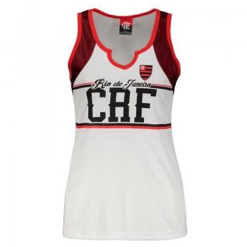 Flamengo Style Women Sleeveless Shirt