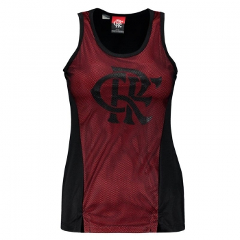 Flamengo Wink Women Red Sleeveless Shirt