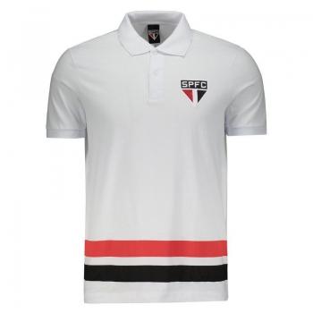 São Paulo Leon White Polo Shirt